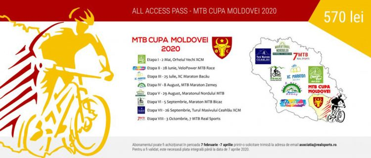 All Access Pass – MTB Cupa Moldovei 2020